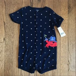 CARTER'S | Nautical romper | Size 18 months